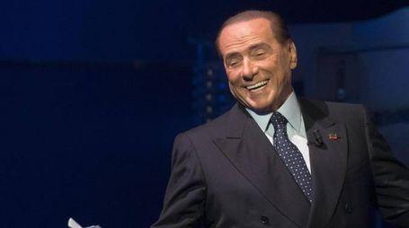 Silvio Berlusconi a 'Porta a porta' (Ansa)