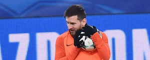 Juve-Barcellona, Messi in panchina