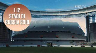 Russia 2018: 12 stadi per 11 città