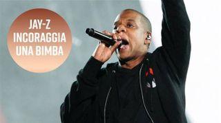 Jay-Z parla ad una bimba, ed è subito emozione