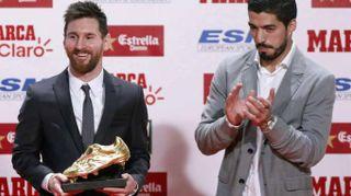Calcio:a Messi 4/a Scarpa d'Oro,'panchine non mi piacciono'