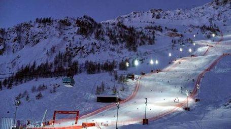La pista di Val d'Isère