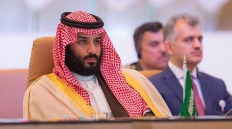Mohammed bin Salman, principe ereditario saudita (Afp)