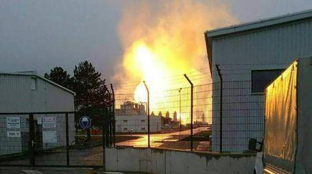 Austria, esplosione impianto gas Baumgarten (Afp)