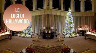 Ecco gli alberi di Natale più luminosi di Hollywood