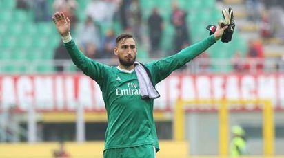 Coppa Italia, stasera Milan-Verona. Nella foto Donnarumma (Newpress)