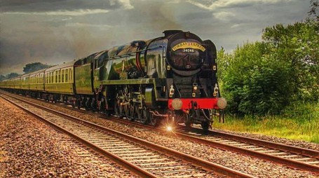 treno a vapore credits pixabay