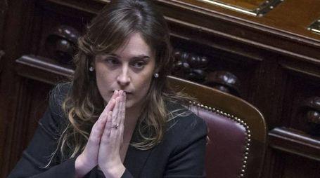 Maria Elena Boschi, sottosegretario ed ex ministro delle Riforme (Ansa)