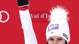 Sci: altro podio per la Goggia, 3/a nel SuperG Val D'Isere
