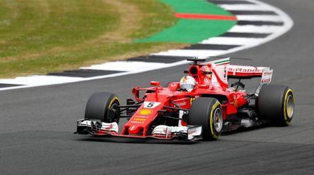 La Ferrari di Vettel