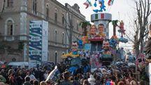 Un'immagine della scorsa edizione del Carnevale di Fano
