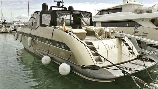 Lo yacht sequestrato