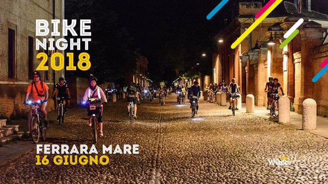 Bike Night 2018, prima tappa a Ferrara