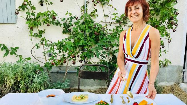 La chef 'vegetaliana' Pina Siotto