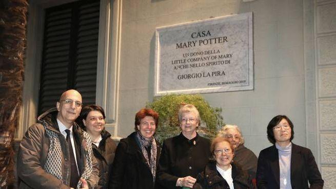 Dedicata a Mary Potter l'ex Villa Cherubini(Foto Umberto Visintini/New Press Photo)
