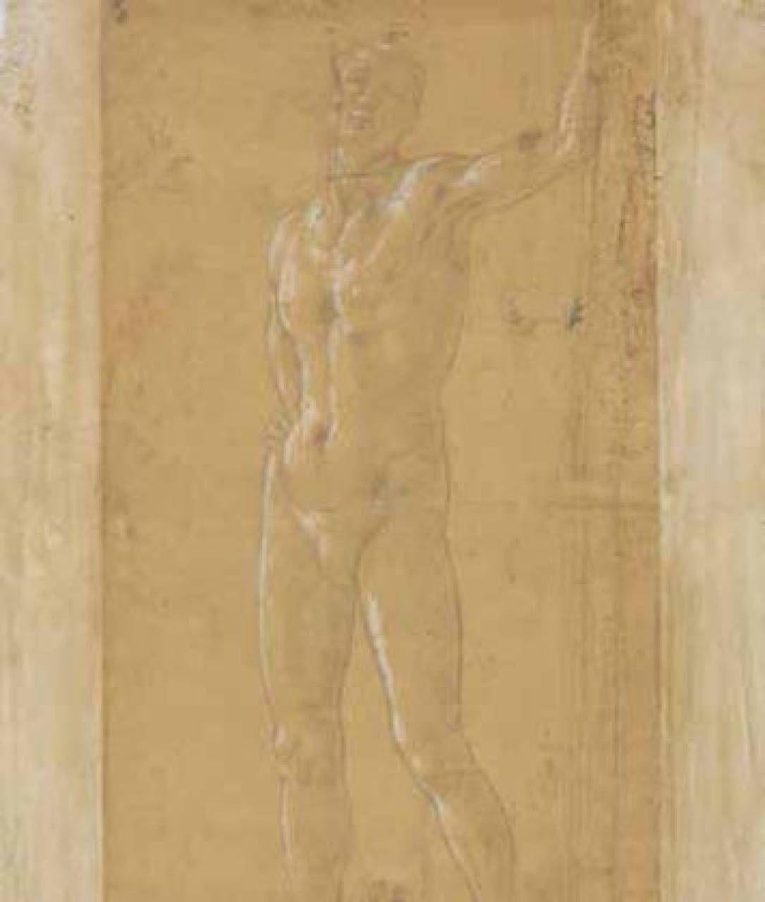 Sandro Botticelli- Nudo classicheggiante