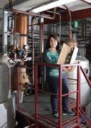 Priscilla Occhipinti, alla guida dell'azienda Nannoni grappe