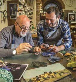 Il maestro artigiano che nel 1972 ha fondato il prestigioso opificio