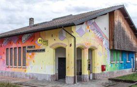 LENTIAI - L'ufficio postale della località bellunese