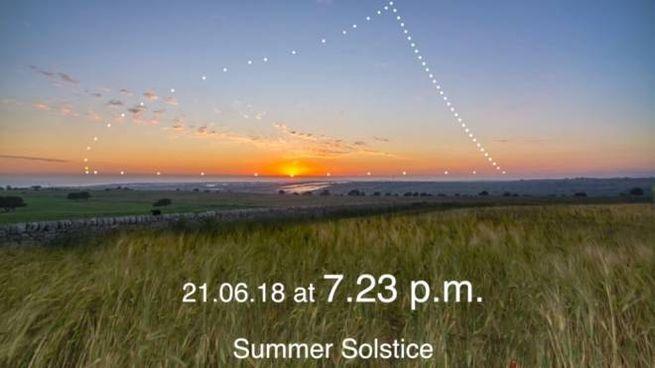 Solstizio d'estate, la foto premiata dalla Nasa è di Marcella Giulia Pace (YouTube)