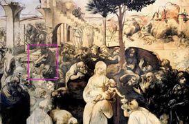 L'Adorazione dei Magi, opera incompiuta di Leonardo da Vinci