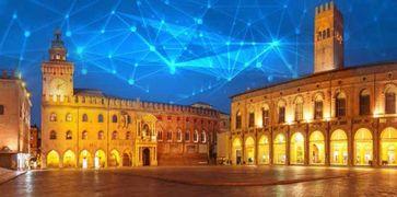 Immagine di una città come Bologna sempre più smart
