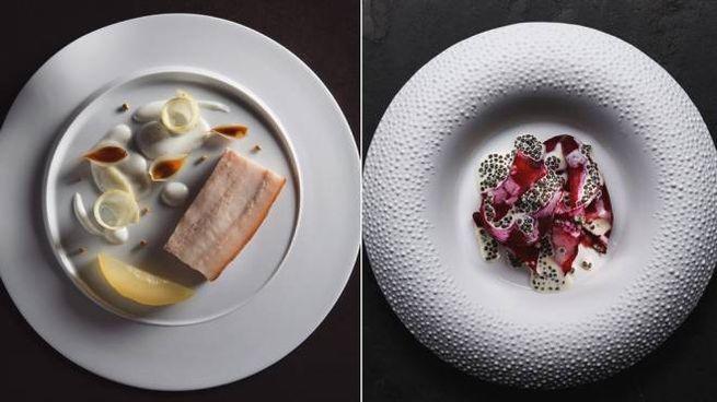 Due piatti dello chef Colagreco - instagram/restaurantmirazur