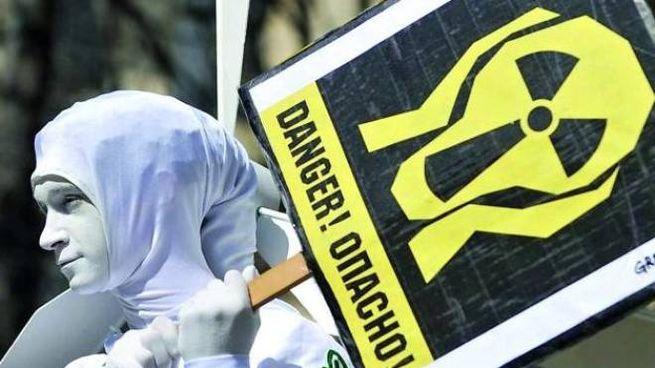 Manifestazione in Russia contro il pericolo nucleare