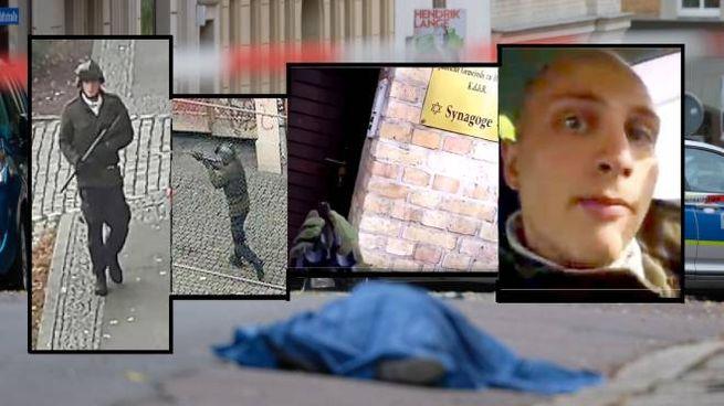 Sparatoria a Halle, il neonazista pubblica il video sul web