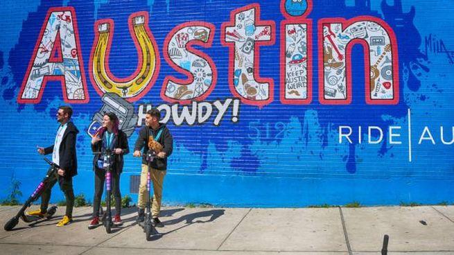 Austin in Texas è la città perfetta per i millennial nel 2020