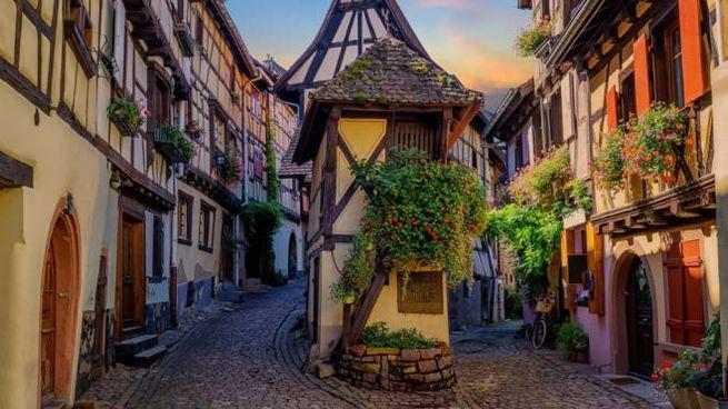Eguisheim, uno dei borghi più belli di Francia