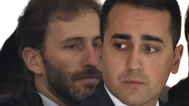 Davide Casaleggio e il capo politico M5s e ministro Luigi Di Maio