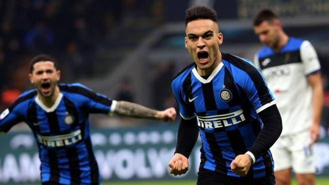 Lautaro Martinez guiderà l'attacco dell'Inter contro il Lecce (Ansa)