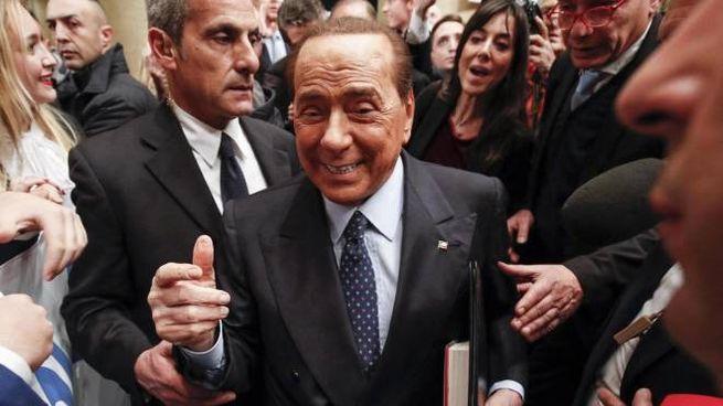 Silvio Berlusconi, leader di Forza Italia (Ansa)