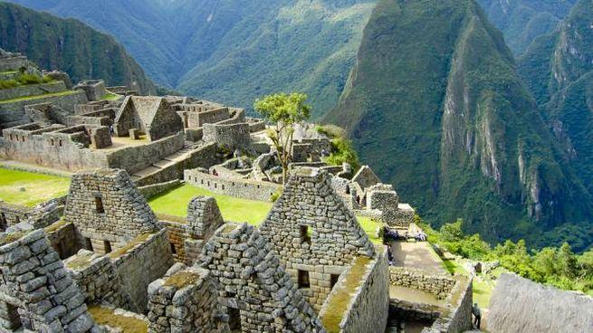 La città Inca di Machu Picchu