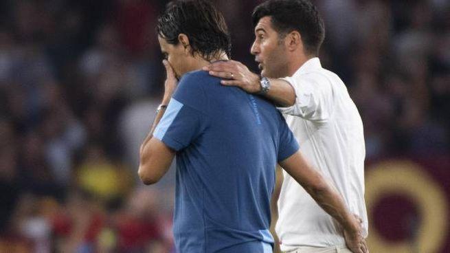 Fonseca e Inzaghi dopo il derby d'andata