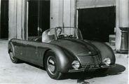 """L'auto futuristica che attraversò la Storia. """"Ne fu fatta una, sfuggì a Hitler e Tito"""""""
