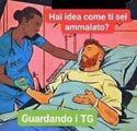 """""""Mi sono ammalato guardando il telegiornale""""  Bufera sulla vignetta postata dal ct dell'Italia"""