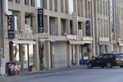 Chinatown a Prato deserta (foto Attalmi)