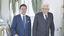 Il premier Giuseppe Conte e il presidente Sergio Mattarella