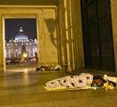 Senzatetto ucciso dal freddo a San Pietro
