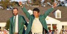 Matsuyama, dallo tsunami allo storico trionfo  Prima giacca verde giapponese al Masters