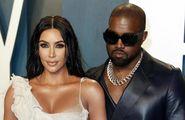 Kim, Kanye e i quattro figli:  accordo sulla custodia congiunta