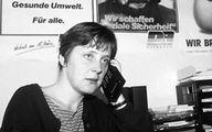 Angela Merkel da giovane