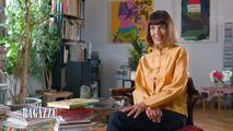 : Stefania Casini, 72 anni, nel programma 'Le ragazze' di Raitre