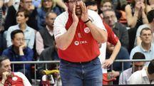 Il coach Mattia Ferrari