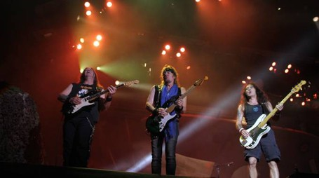 Iron Maiden in concerto