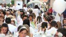 Una cena in bianco a Monza