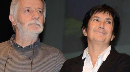 Maria Calvetti con il marito Franco Cattaneo