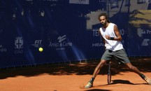 Dustin Brown in una fase di gioco